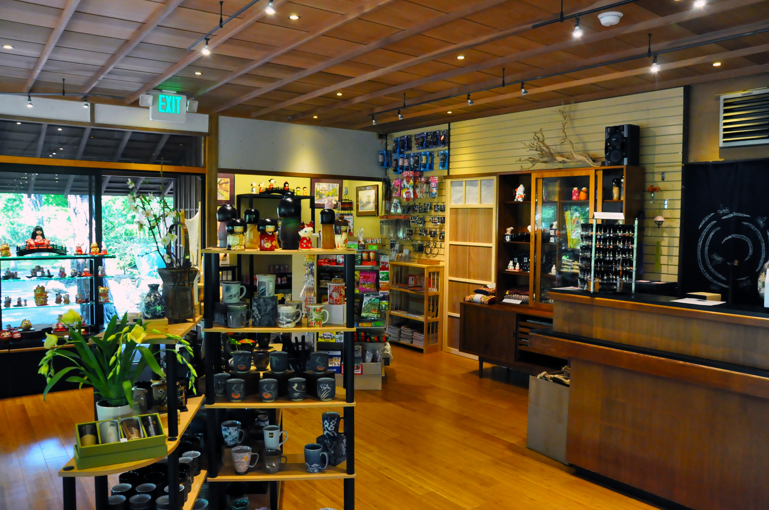 Gift Shop Interior After Renovation | Dean M. Shibuya